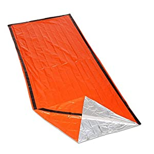 41i25P9ir1L. SS300  - ACMEDE Outdoor Emergency First Aid Kit Sleeping Bags Radiation Protection Adiabatic Lifesaving Insulation Blankets…