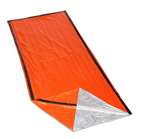 41i25P9ir1L - ACMEDE Outdoor Emergency First Aid Kit Sleeping Bags Radiation Protection Adiabatic Lifesaving Insulation Blankets…