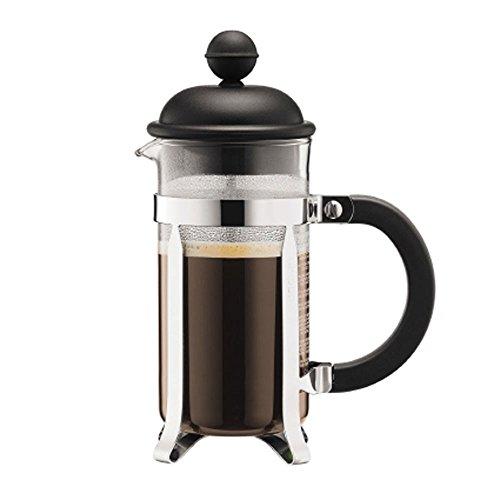 Bodum Chambord CAFFETTIERA Kaffeebereiter French Press, ca. 3 Tassen, schwarz, ca. 0.35 l, inklusive...