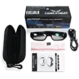 Camera Glasses with Clear Lenses, Spy Cam Eyeglasses, High Definition (HD), 720p + Free Tutorial Video Course + 8GB Card