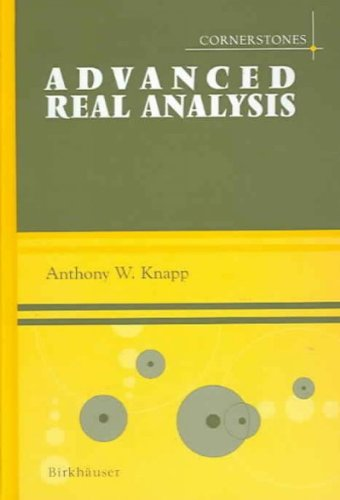 (Advanced Real Analysis) By Knapp, Anthony W. (Author) Hardcover on (07 , 2005)