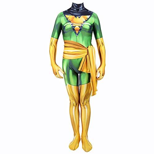YEGEYA Cosplay Kostüm Halloween Prom Strumpfhose Erwachsene Kinder Party Requisiten Mit Gürtel (Color : Child, Size : XS) (Body Bag Für Erwachsene Kostüm)