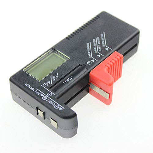 Battery Volt Tester Checker für Knopfzelle Universelle digitale LCD-Anzeige Reparaturwerkzeuge und -kits ansehen Digital-batterie-tester-kit