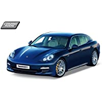 Porsche Panamera S Blue 1:24 Diecast Model Car by Welly