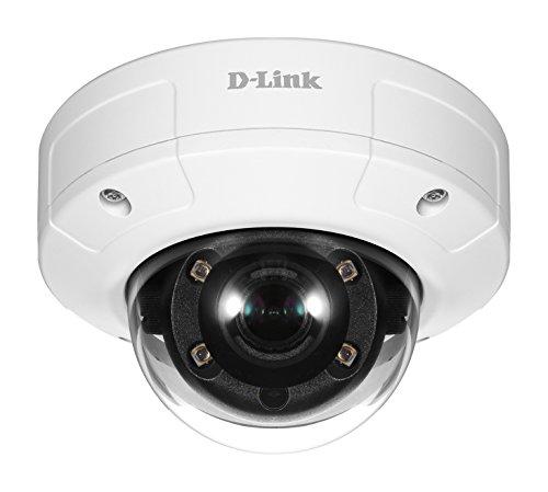 D-Link DCS-4633EV PoE Überwachungskamera (Aufnahmen in HD-Qualität, speziell für den Außenbereich, Tag und Nacht, vandalismusgeprüft) (D-link Outdoor Security-kamera)