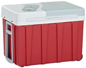 Mobicool W40 Glacière Rigide avec Roulettes 12 V / 230 V 40 L Rouge