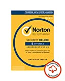 Norton Security Deluxe 2019 | 5 Appareils | 1 an | PC/Mac/iOS/Android | Téléchargement...
