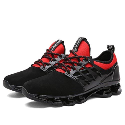 Herren Sportschuhe Mode Freizeit Laufschuhe Turnschuhe Basketball Schuhe Red