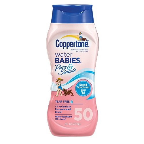 coppertone-water-babies-sunscreen-lotion-pure-simple-spf-50-8-oz-by-schering-plough-healthcare-produ