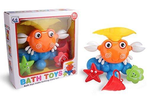 Badespielzeug Krabbe Spielzeug Wasserpark für Badewanne ab 18 M