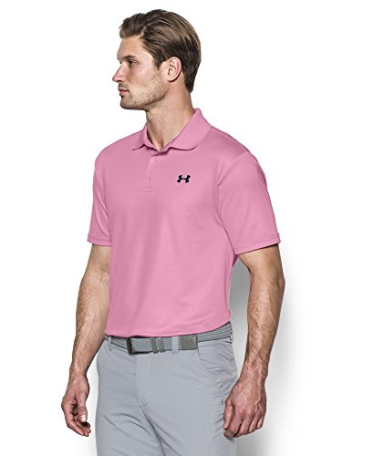 Under Armour Herren Ua Performance Polo Kurzarmshirt True Pink