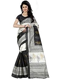 Trendz Style Taffeta Silk Printed Saree(TZ_1034_B)