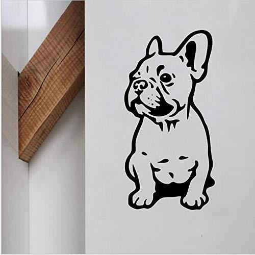 gge Vinyl Wandaufkleber Schöne Hund Wandtattoos Für Zuhause Lilving Zimmer/Auto Dekoration Tiere Kunstwand Home Deco56 * 28 cm ()