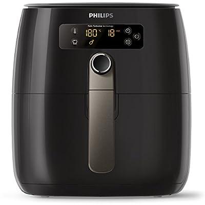 Philips Airfryer Heiluftfritteuse Ohne L Digitales Display Schwarz