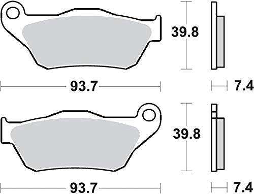 SBS-Pastiglia Freno Yamaha X- Max 250[P194Ms]