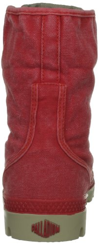 Palladium Baggy, Boots femme Rouge (240/Red/Mastic)