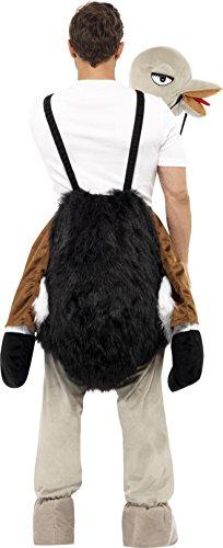 Imagen de smiffy's  disfraz de avestruz para hombre, talla l única  32296  alternativa