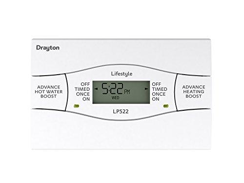 DraytonLP522, Heizungs- und Warmwasser-Regler, 5/2-Tage-System