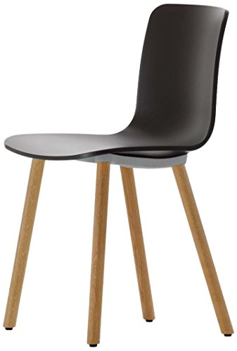 Vitra 440 201 001001 Stuhl HAL Wood, eiche massiv hell basic dark
