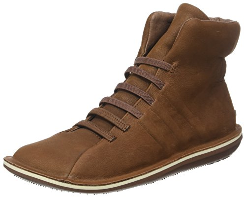 CAMPER Damen Beetle Sneaker, Braun (Medium Brown), 40 EU (Top Medium-high)