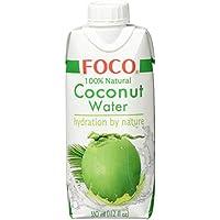 FOCO Kokosnusswasser, pur, 330 ml