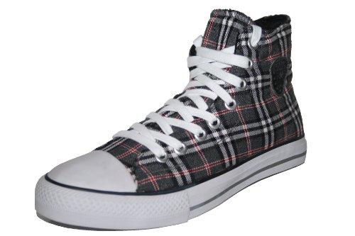 Boras–Edge, Chaussures, Chaussures de sport, Baskets Gris - Blanc