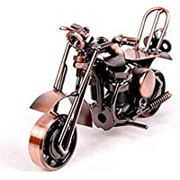 Zenness Handmade Retro Motorcycle Model Metal Material Electrolytic Plating Finish Bronze M36A