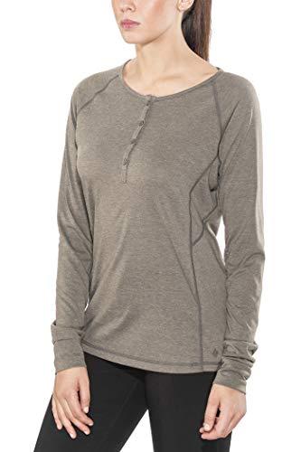 Black Diamond Attitude - T-Shirt Manches Longues Femme - Marron 2018 t Shirt Manches Longues