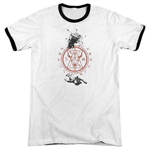 American Horror Story Herren T-Shirt weiß / schwarz
