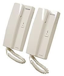 Eagle 6 VDC 2-Way System Intercom - White