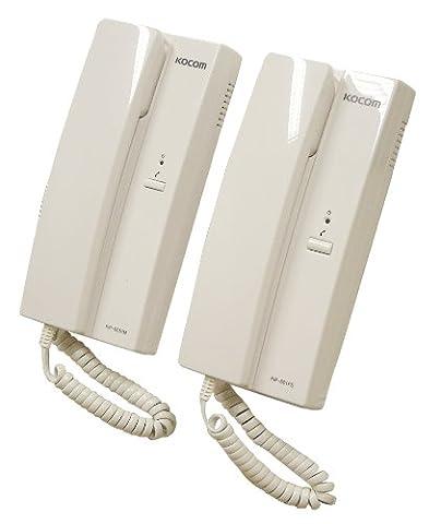Kocom Blanc 6 Vdc 2 Voies Système Intercom 1 Paquet / S