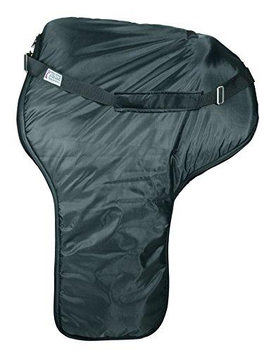 Dura-Tech Western Sattel Tasche mit integriertes Sattel Cover Schutz (Schwarz)