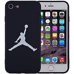 Onix Store Funda de Silicona Negra con Jugador de Baloncesto de la NBA, Cubierta Flexible para su teléfono (iPhone 11 Pro)