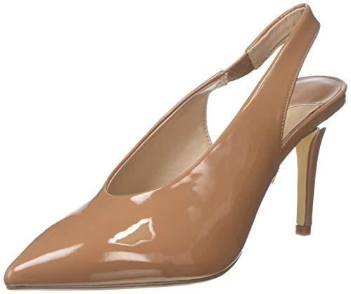 Dorothy Perkins Wide Fit Daisy Scarpe col Tacco con Cinturino Dietro la Caviglia Donna, Beige (Ecru 833) 39 EU