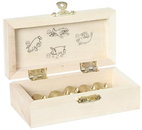 Bartl 3806 deLuxe Jeu des cochons Boîte en bois incluse