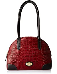 Hidesign Women's Shoulder Bag (Red Brown)