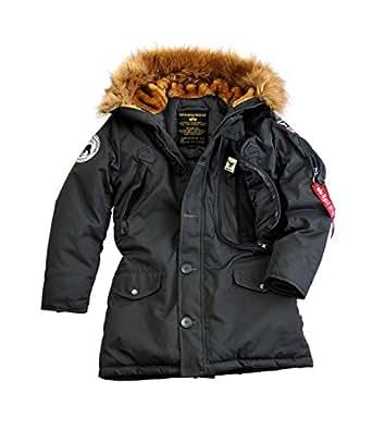 Alpha Industries Jacke Polar Jacket Wmn, Farbe:black;Größe:XS