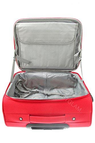 JustGlam-Maleta de cabina de 2 ruedas pilotina puerta pc compatile para vuelos low cost 6805 art