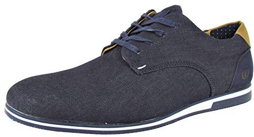 Benson & Cherry Herren Sneaker Jeans Style (43 EU, blau (Denim)) (Benson Sneaker)