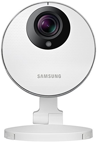 Samsung Smart Home Camera: Full HD 1080P Indoor Security Camera, CCTV, Baby Monitor, Night Vision, Two-Way Audio, Motion Detect (SNH-P-6410/UK)