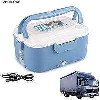 Levoberg Caja calefactora eléctrico 12 V para Coche Caja calefactora Encendedor, ...