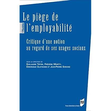 Le piège de l'employabilité (Des sociétés)
