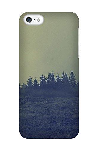 iPhone 4/4S Coque photo - Foggy forêt I