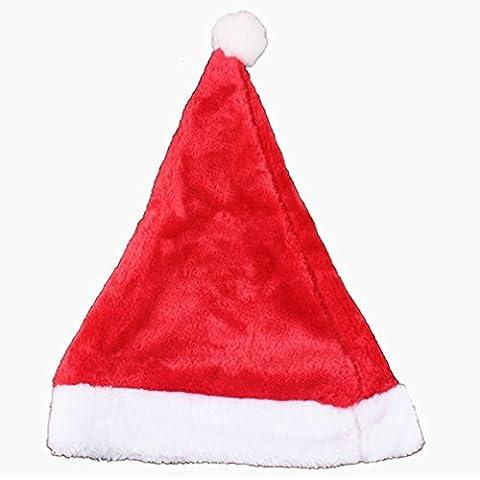Regalo di Natale Decorazioni di peluche cappelli del partito di festa della famiglia per il capretto