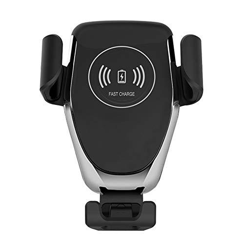 Wireless Car Charger - Qi-zertifiziert Wireless Charging Ladegerät Auto Air Vent Handyhalter Kompatibel mit iPhone 8 / 8plus / X / XS / XS MAX / XR, Samsung Note5, S6 +, S7, S7 +, S8, S8 +, I8, I8 +, IX, Nokia Lumia 920, LG Nexus 4, Galaxy S3, Note 2, Galaxy S4 und mehr (Drahtlose Handy-ladegerät Samsung S4)