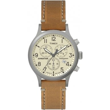 Timex – Expedition Grid Shock – cronã³ Clebsch – Cream/Tan Herren Armbanduhr Tan