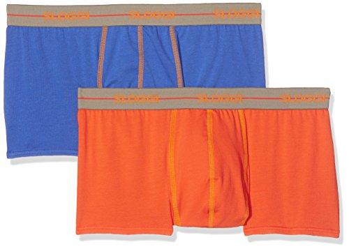 Sloggi (SLOG7) Herren Slip Mehrfarbig (1 bleu + 1 orange)