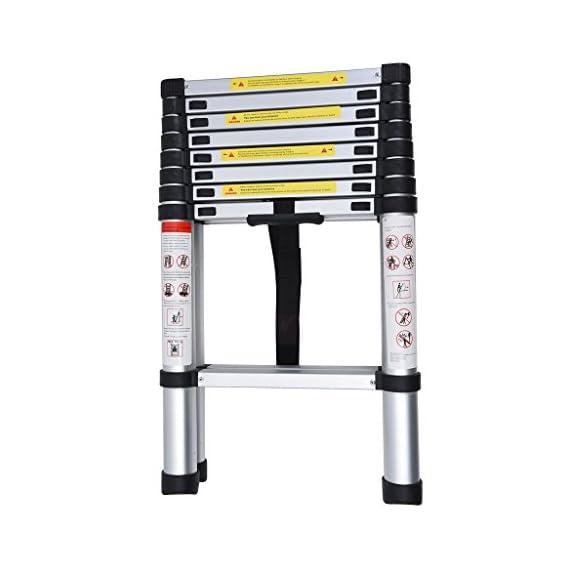 Egab 7-Step Foldable Aluminium Ladder 2 Mtr (6.5 Feet)