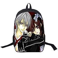 Cosstars Vampire Knight Anime Image Printing Backpack Rucksack Packsack School Bag for Student Boys and Girls