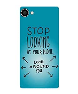 Techno Gadgets back Cover for Micromax Bharat 2